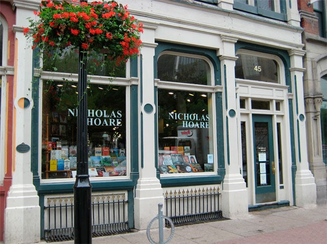 Nicholas Hoare Bookstore Toronto Location Front