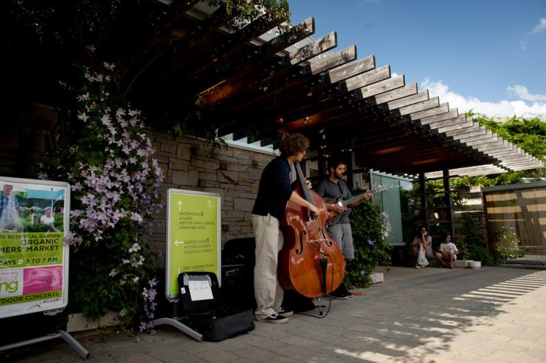 Musicians of Toronto Botanical Garden