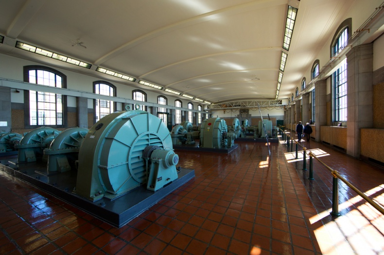 RC Harris Water Treatment Plant Turbines