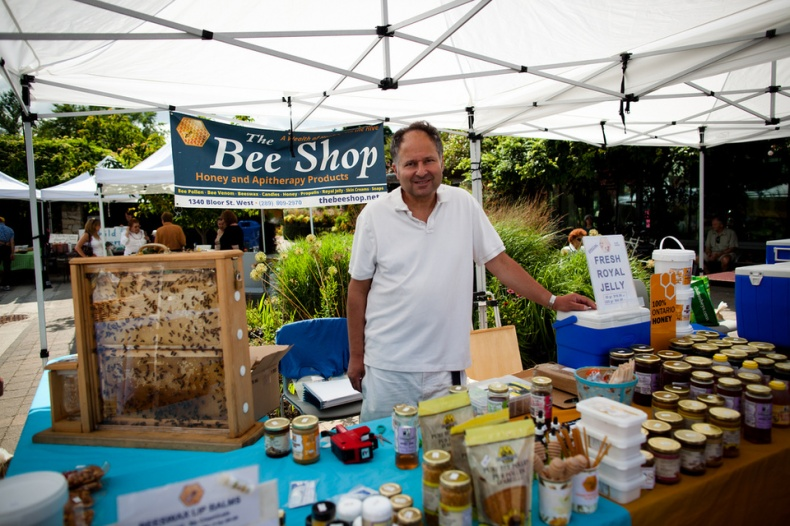 The Bee Shop at Farmers Market