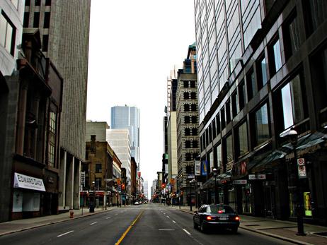 Empty Toronto by MSVG