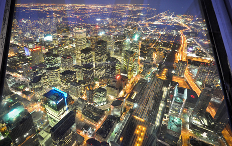 toronto night by