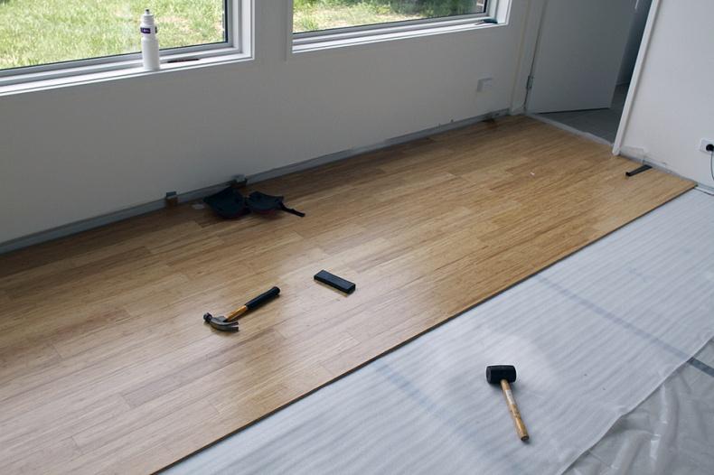 Bamboo Flooring by Gavin Tapp