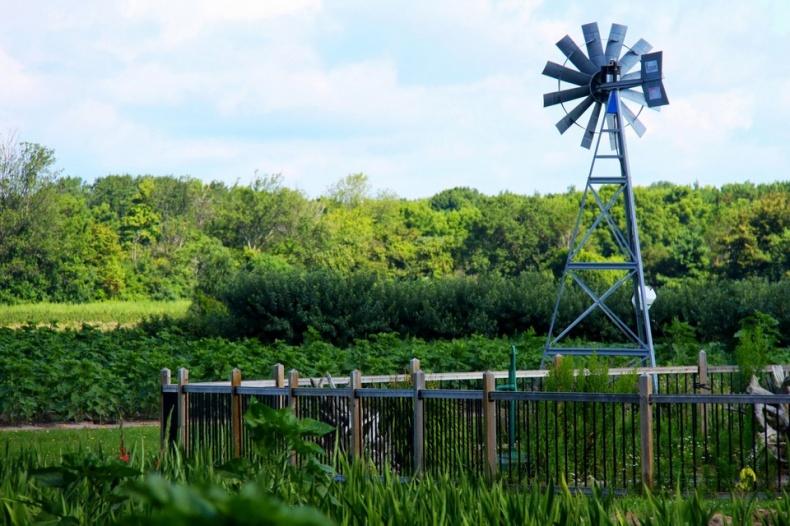 Windmill Andrews Scenic Acres Farm