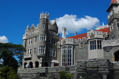 Casa Loma in Toronto by Jeffrey Vanneste