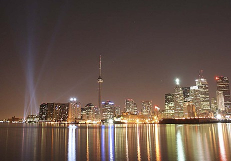 Toronto Skyline in the night by Steve Jones