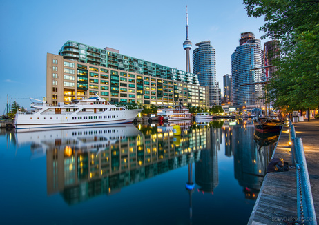 Condos In Toronto Harbor By James Wheeler