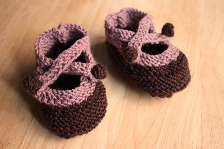 baby shower booties by iriskh