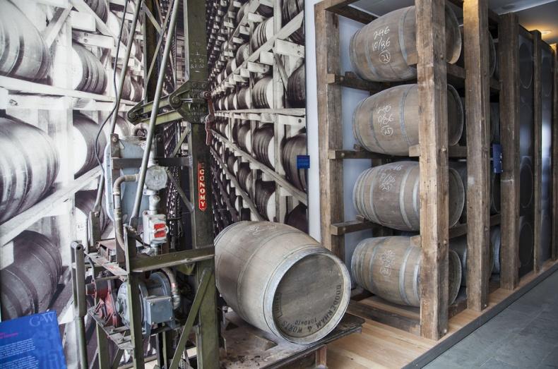 Old barrels In Gallery