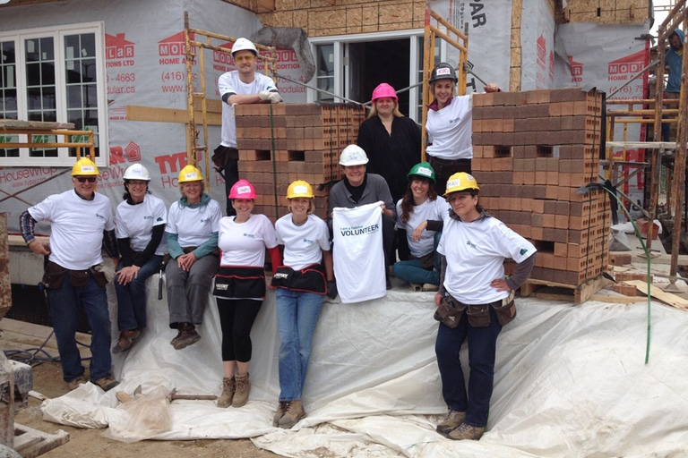 Habitat for Humanity Volunteering – May 2013
