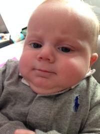 Baby Arthur Hughes