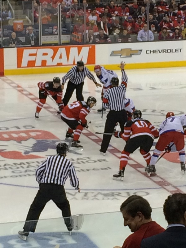 World Jr Hockey Finals Jan 2015