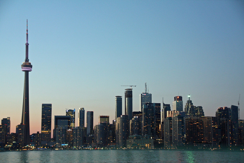 Toronto Skyline by Christine Wagner