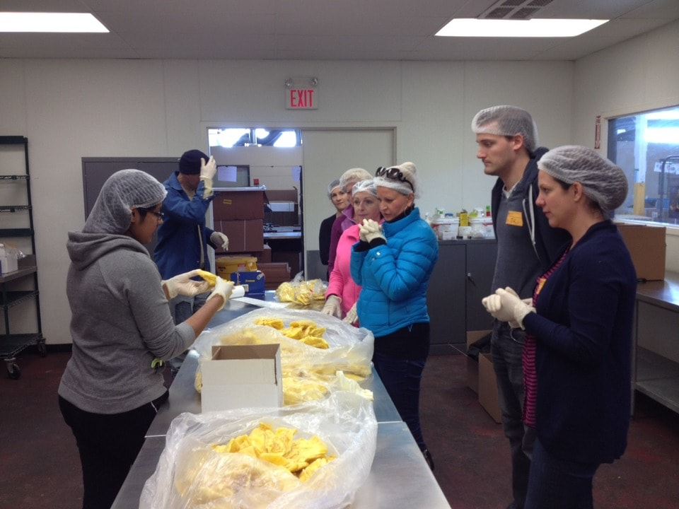 Volunteering at the Daily Bread Food Bank