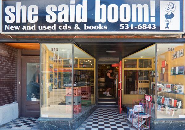 She said Boom