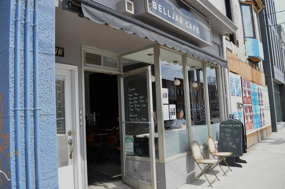 belljar cafe exterior