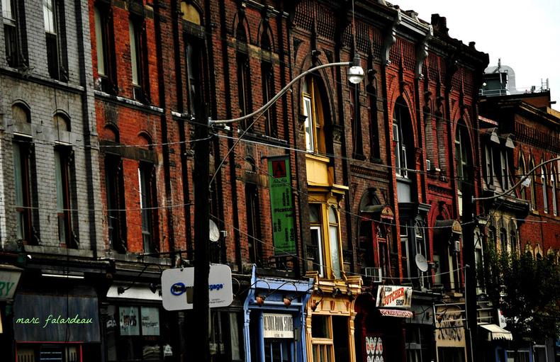 One Block Queen Street East by Marc Falardeau