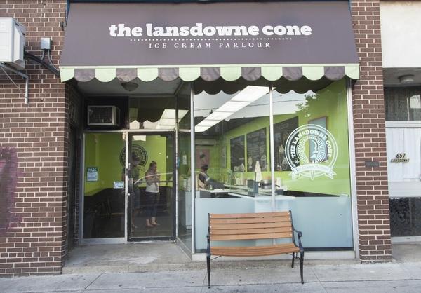 lansdowne cone entrance