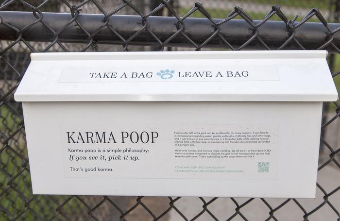 Karma poop