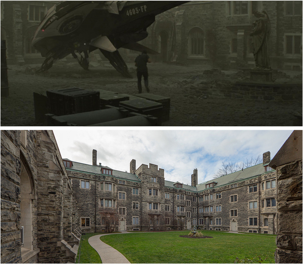 Total Recall (2012) / Knox College 1