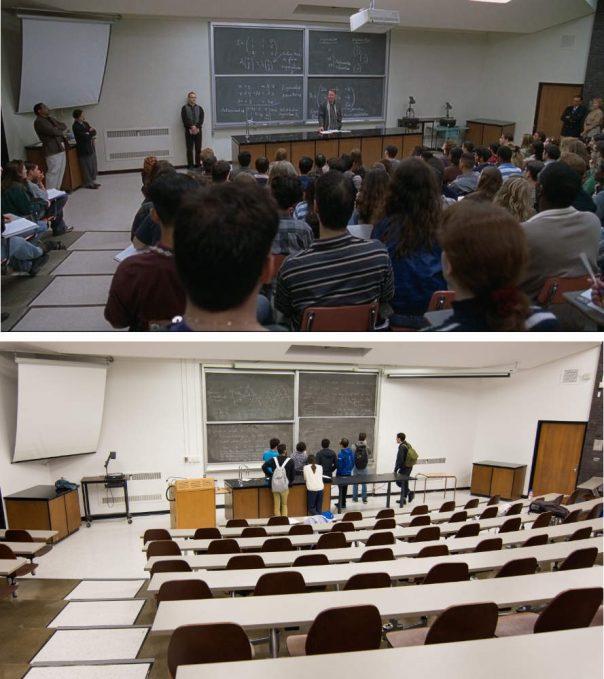 MIT lecture scene
