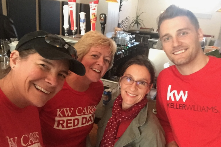 Keller Williams Annual Red Day