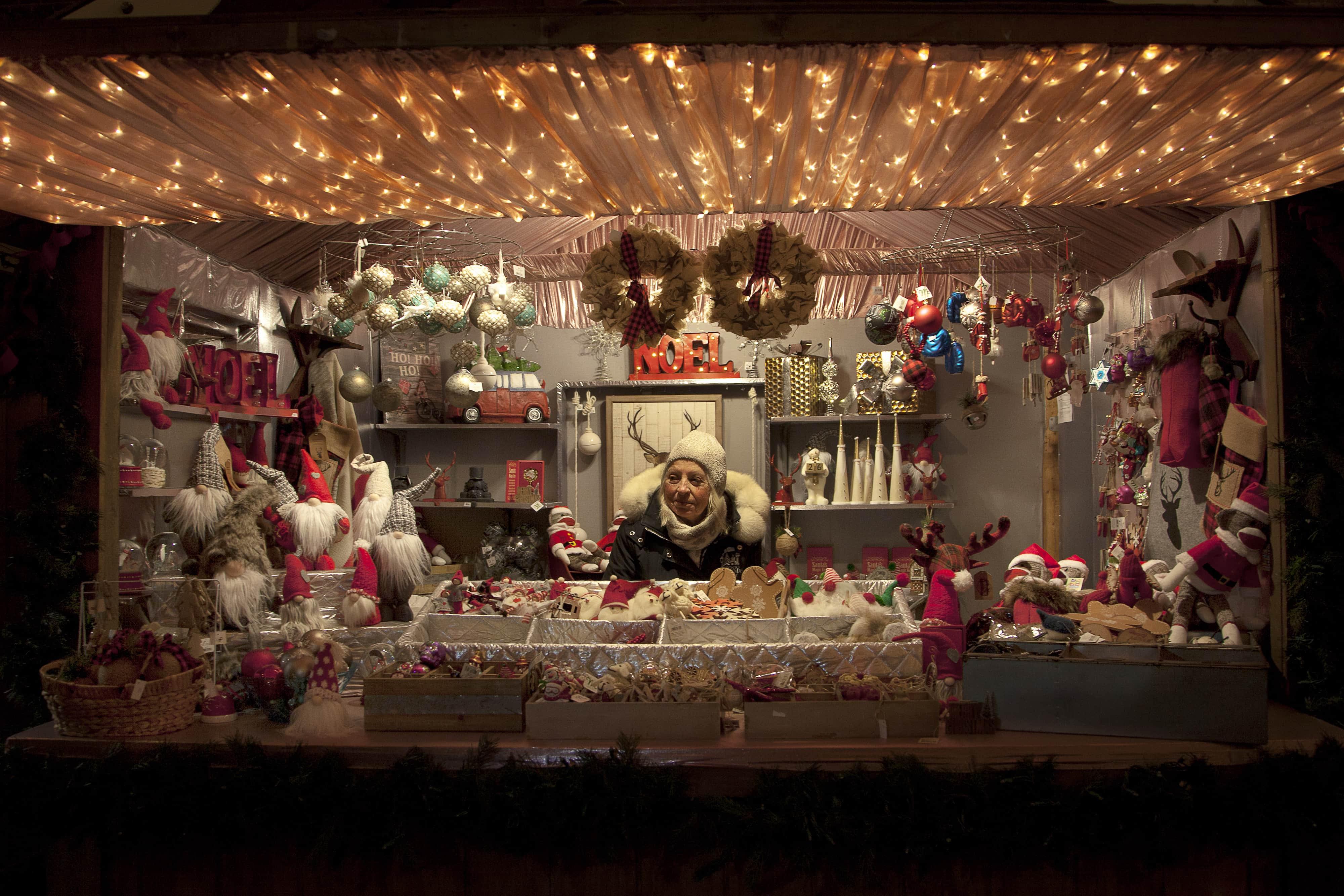 Toronto Christmas Market At Distillery Historic District