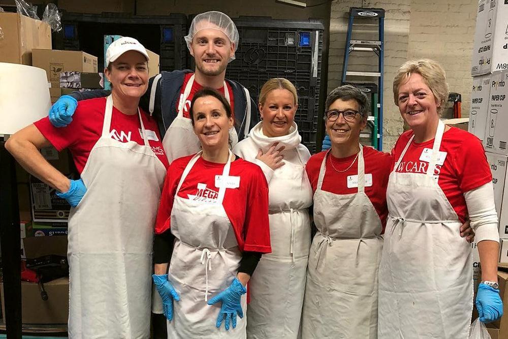 JKT Volunteering at Good Shepherd Ministries 2018
