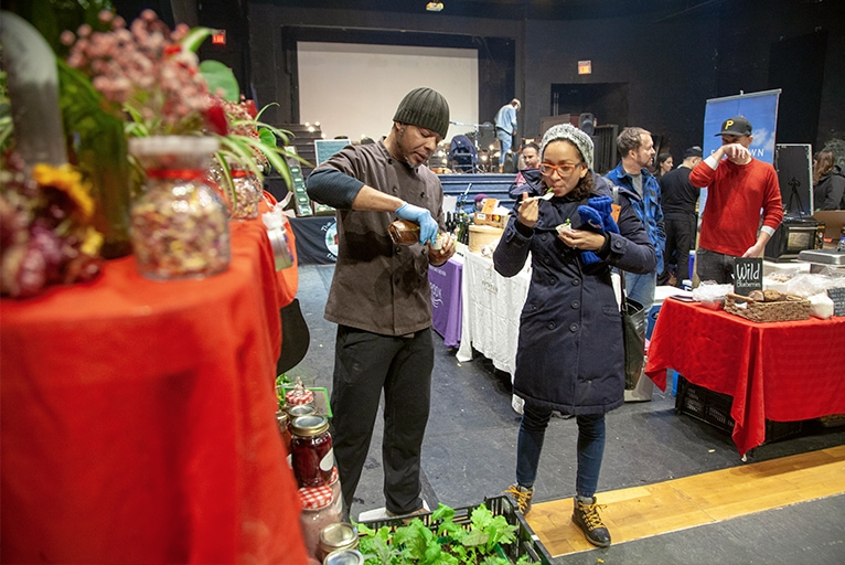 Leslieville Winter Market