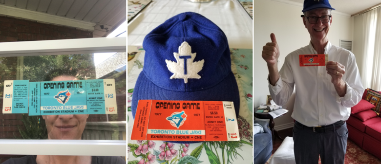 Holly's and Jay's first Blue Jays tickets