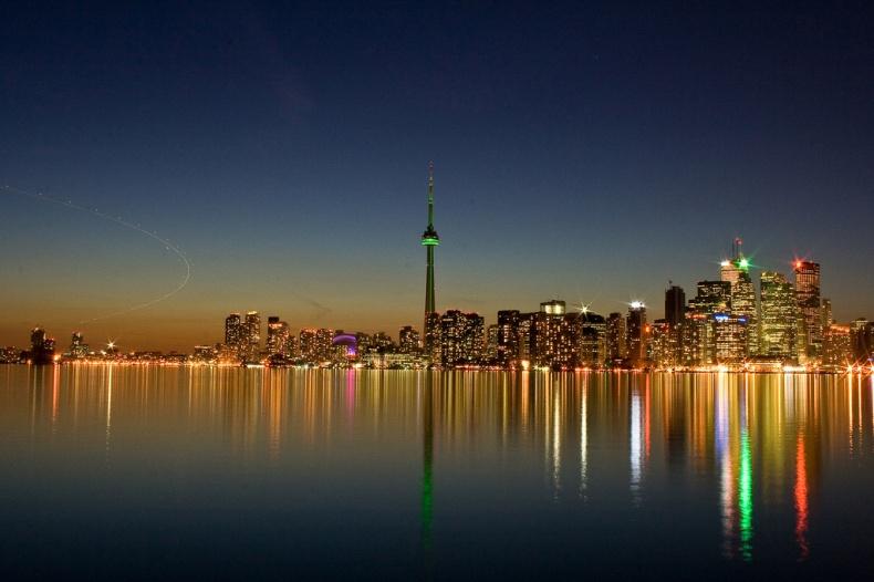 Toronto Skyline by Abi K