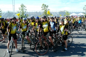 Ride to Conquer Cancer Team photo