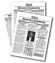 newsletters white