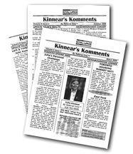 Kinnear's Komments