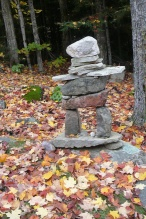 Inukshuk Deer Lake Kinch