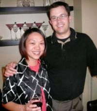 Monica Chan-Strauss and Tom Strauss