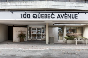100 quebec avenue #1101 30 building entrance