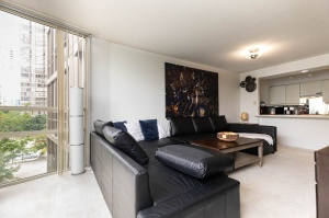 50 eglinton avenue west living room 1