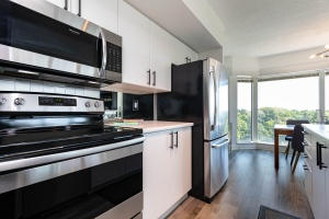 97 lawton boulevard 802 kitchen with park view to the north