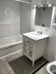 227 grenadier road basement bathroom