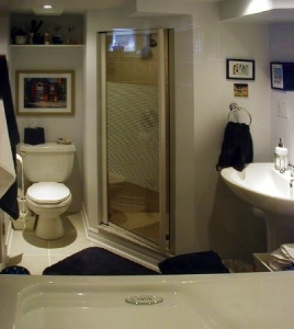 Basement bathroom 2
