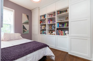 301 evelyn avenue purple bedroom